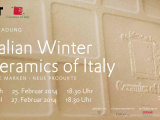 ITALIAN WINTER - Ceramics of Italy